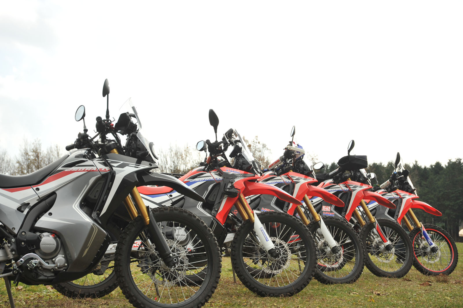 HONDA CRF250RALLY オフ会
