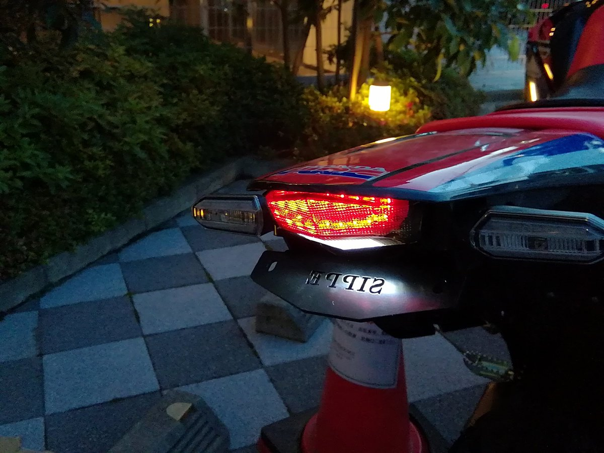 CRF250RALLYフェンダーレスキット